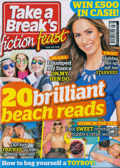 Take A Break's Fiction Feast magazine cover