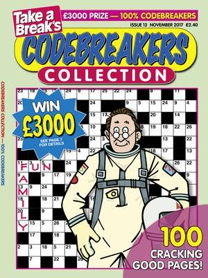 Take A Break's Codebreakers Collection magazine cover