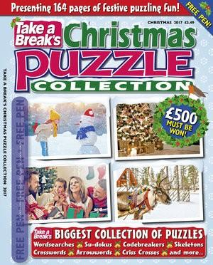 Take A Break's Seasonal Puzzle Collection magazine cover
