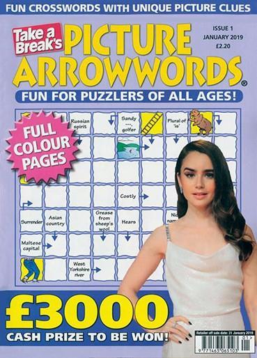 Picture Arrowwords magazine cover