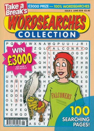 Wordsearches Collection magazine cover