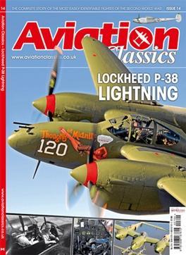 P38 Lightning magazine