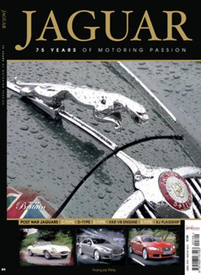 Jaguar - 75 Years cover