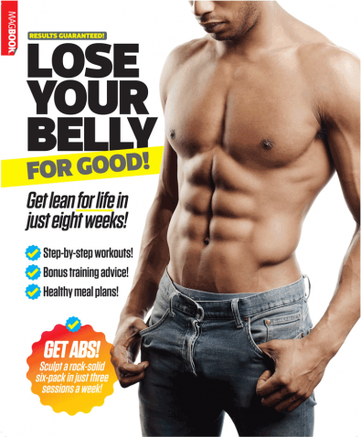 Fitness for Men: Lose Your Belly For Good cover