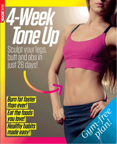 Women's Fitness: 4-Week Tone Up cover