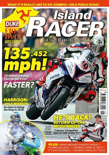 Island Racer 2019 cover