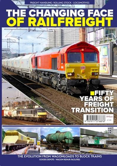 The Changing Face of Railfreight cover