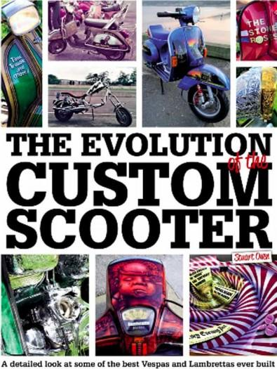 The Evolution Of The Custom Scooter cover