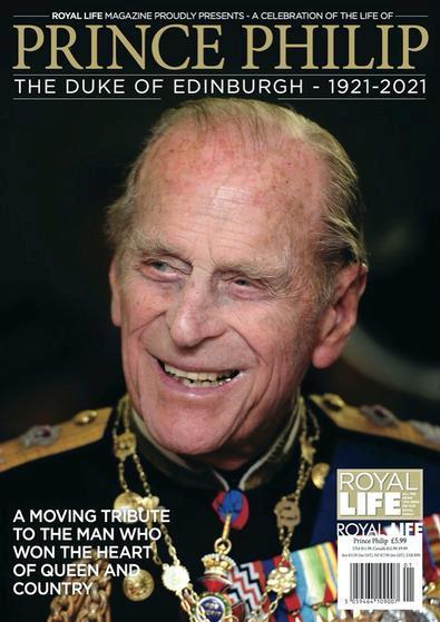 The Duke of Edinburgh: A Celebration of the Life of Prince Philip magazine cover