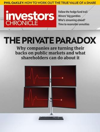 Investors Chronicle magazine cover