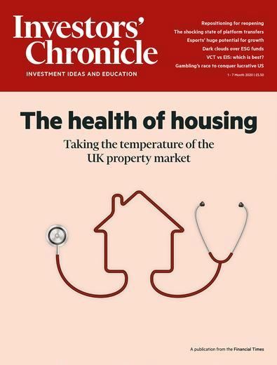 Investors' Chronicle- Print + digital + Alpha magazine cover