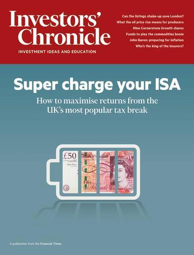 Investors' Chronicle- Digital + Alpha magazine cover