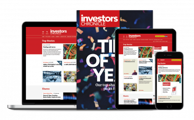 Investors Chronicle- Digital only magazine cover