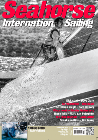 Seahorse International Sailing magazine cover