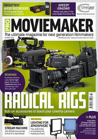 Pro Moviemaker magazine cover