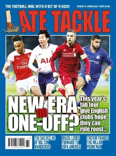 Late Tackle magazine cover