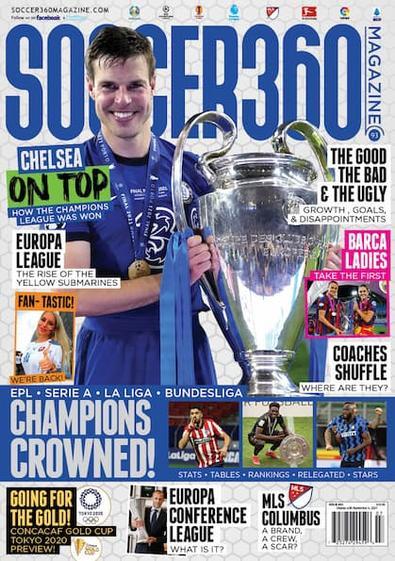 Soccer 360 magazine cover