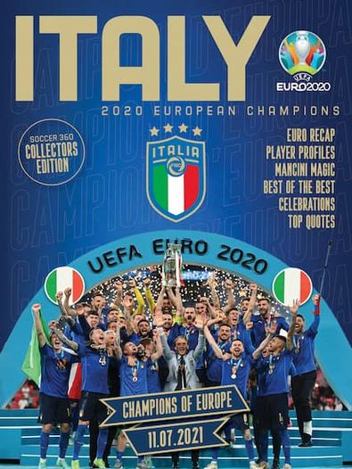 Italy Champions Of Europe cover