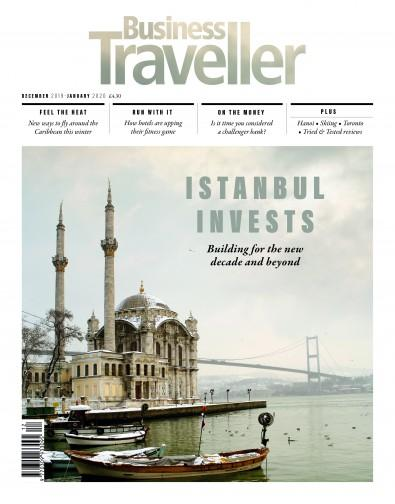 Business Traveller magazine cover