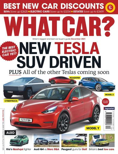What Car? magazine cover