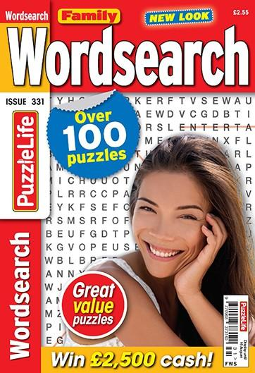 Family Wordsearch magazine cover