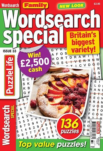 Family Wordsearch Special magazine cover