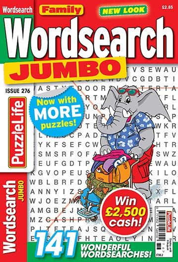 Family Wordsearch Jumbo magazine cover