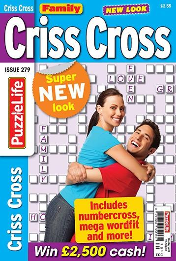 Family Criss Cross magazine cover