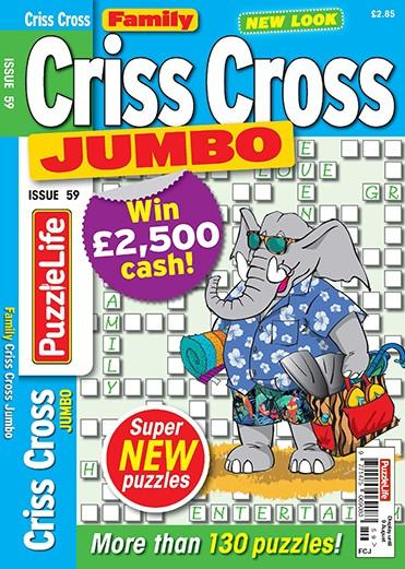 Family Criss Cross Jumbo magazine cover
