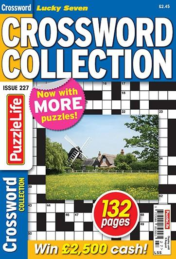 Lucky Seven Crossword Collection magazine cover