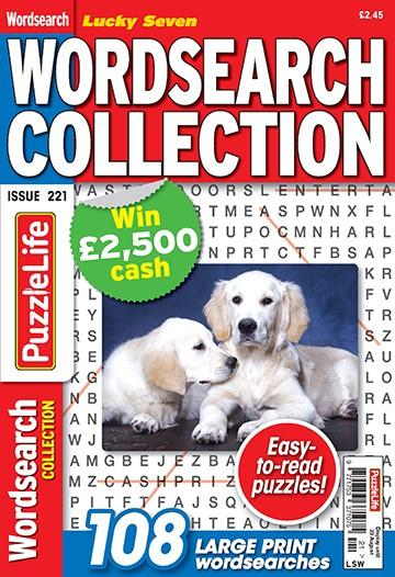 Lucky Seven Wordsearch Collection magazine cover