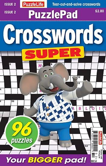 PuzzleLife PuzzlePad Crosswords Super magazine cover