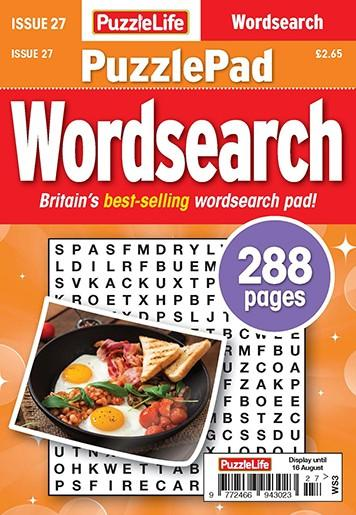 PuzzleLife PuzzlePad Wordsearch magazine cover