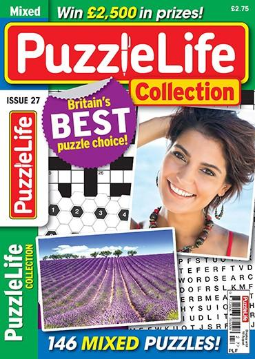 PuzzleLife Collection magazine cover
