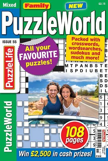 Family PuzzleWorld magazine cover