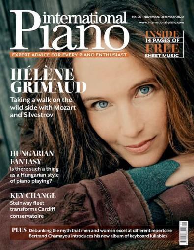 International Piano magazine cover