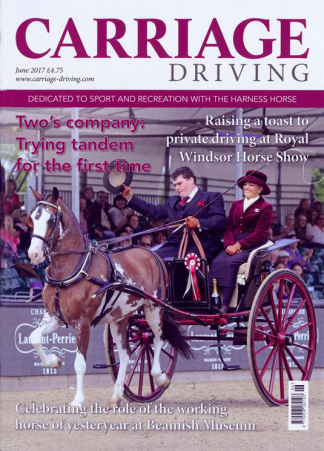 Carriage Driving magazine cover