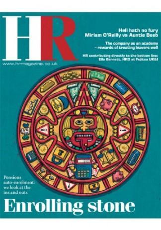 HR magazine cover