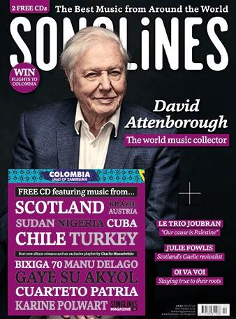 Songlines magazine cover