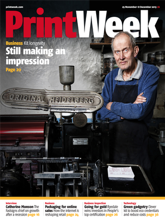 PrintWeek magazine cover