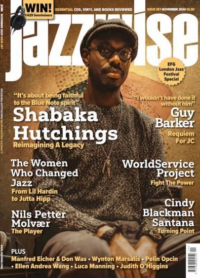 Jazzwise magazine cover
