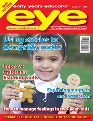 Early Years Educator magazine cover