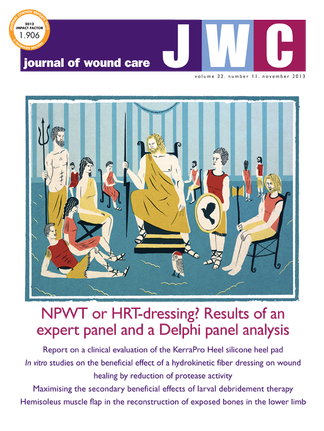 Journal of Wound Care magazine cover