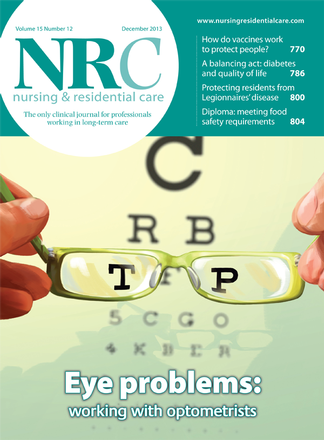 Nursing and Residential Care magazine cover