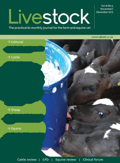 Livestock magazine cover