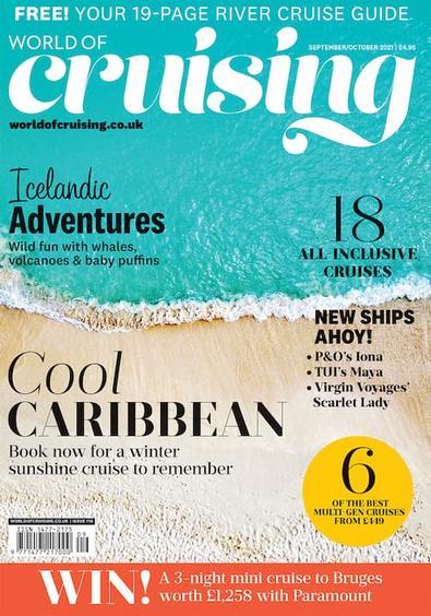 World Of Cruising magazine cover