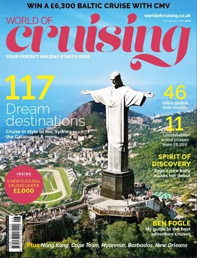 World Of Cruising magazine cover