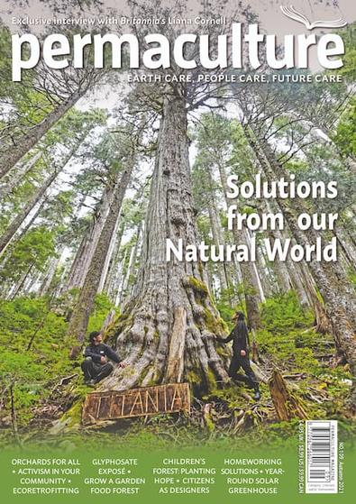 Permaculture magazine cover
