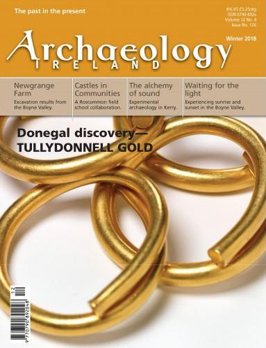 Archaeology Ireland magazine cover