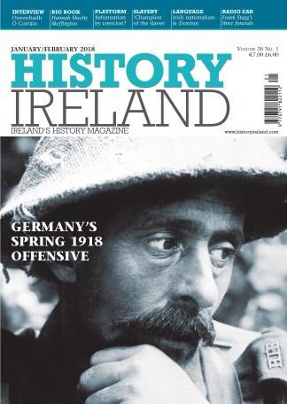 History Ireland magazine cover